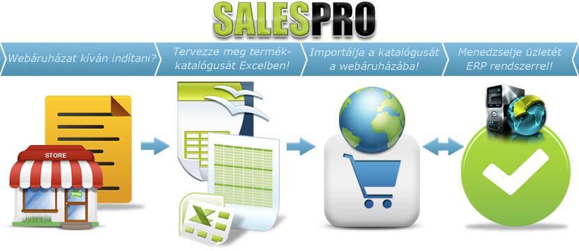 SalesPro - Munkafolyamat